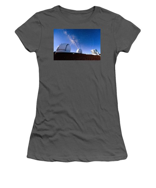 Four Lasers Attacking The Galactic Center Women's T-Shirt (Athletic Fit)