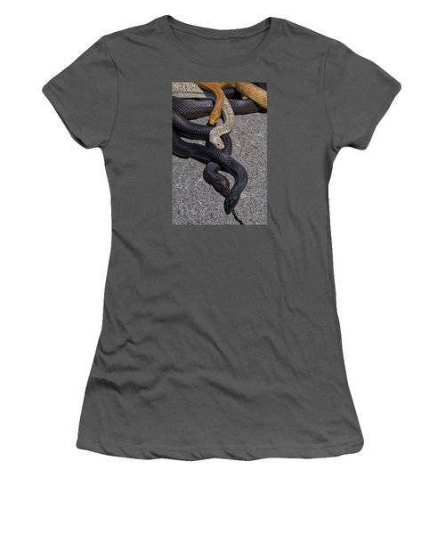 Four Snakes Women's T-Shirt (Athletic Fit)