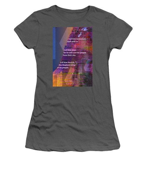 Fourteen Generations Women's T-Shirt (Junior Cut) by Chuck Mountain