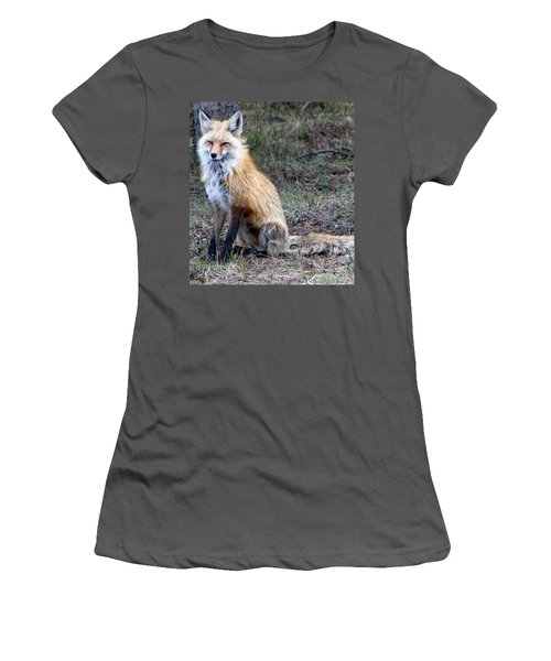 Foxy Lady  Women's T-Shirt (Junior Cut) by Fiona Kennard