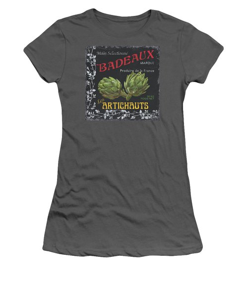 French Veggie Labels 1 Women's T-Shirt (Athletic Fit)