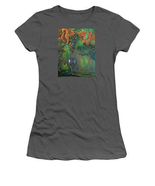 Fruit Of The Vine Women's T-Shirt (Athletic Fit)