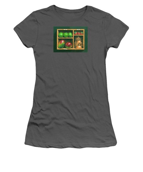 Fruit Shelf Women's T-Shirt (Junior Cut) by Brian James
