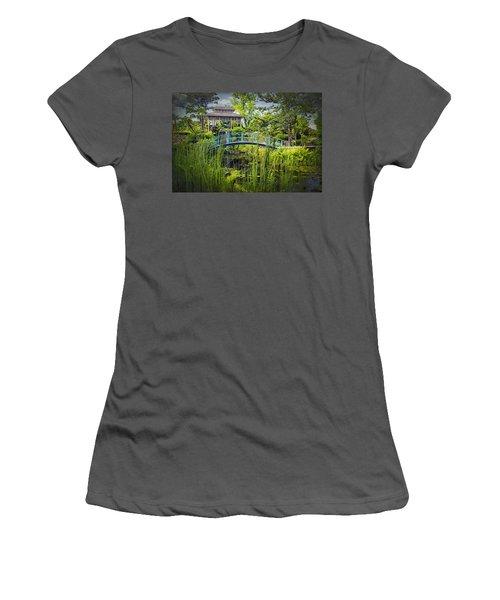 Garden At Houmas House Plantation La Dsc04584 Women's T-Shirt (Athletic Fit)