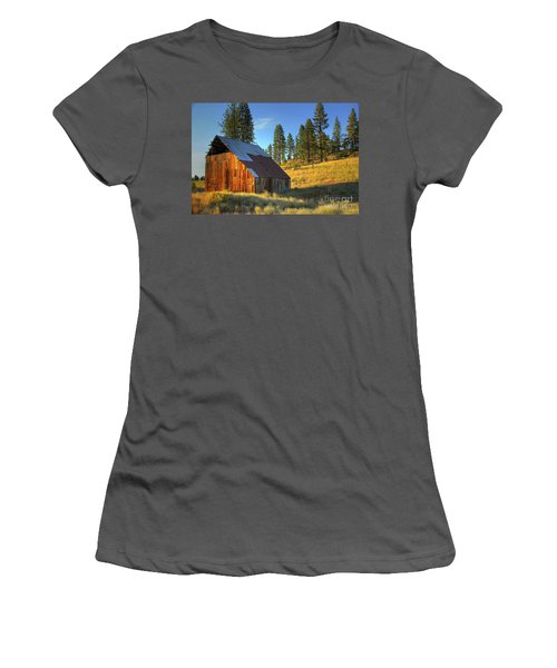 Garden Valley Barn Women's T-Shirt (Athletic Fit)