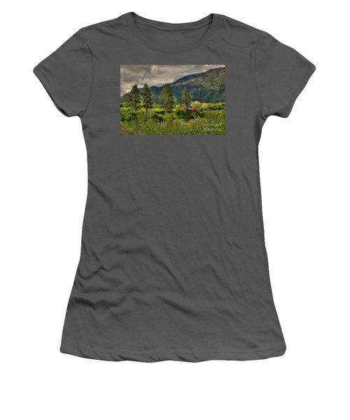 Garden Valley Women's T-Shirt (Athletic Fit)