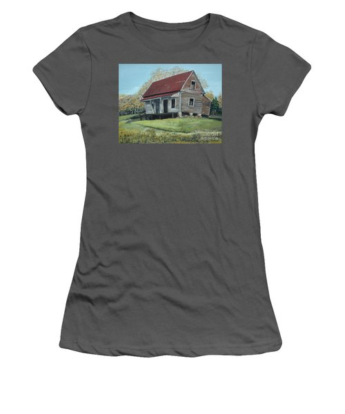 Gates Chapel - Ellijay Ga - Old Homestead Women's T-Shirt (Athletic Fit)