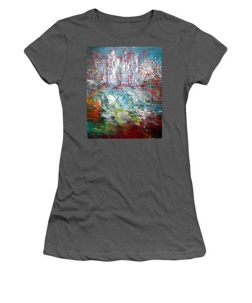 Gentle Breeze  Women's T-Shirt (Junior Cut) by George Riney
