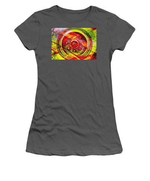Geometric Colors  Women's T-Shirt (Athletic Fit)
