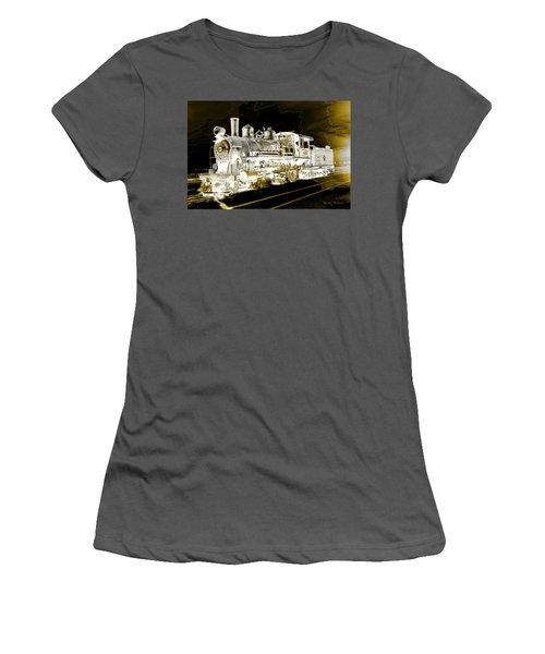 Ghost Train Women's T-Shirt (Athletic Fit)
