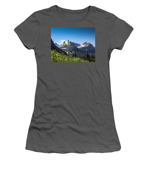 Glacier Grass Women's T-Shirt (Athletic Fit)