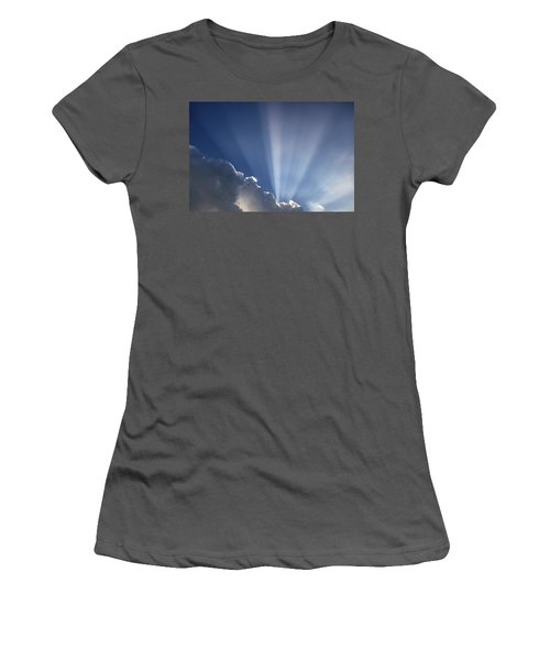 God Rays Women's T-Shirt (Athletic Fit)