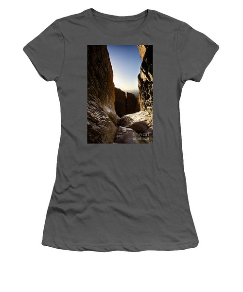 God's Eye View Women's T-Shirt (Athletic Fit)