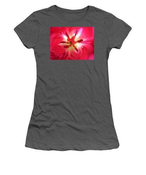 God's Floral Canvas 2 Women's T-Shirt (Athletic Fit)