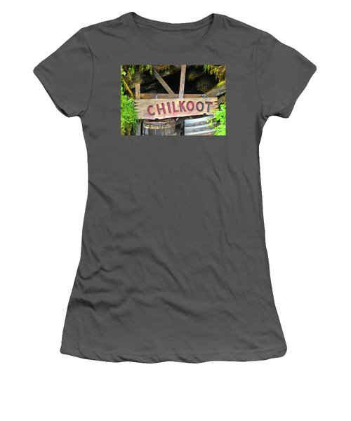 Gold Mine Women's T-Shirt (Athletic Fit)