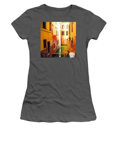 Golden Canal Women's T-Shirt (Athletic Fit)