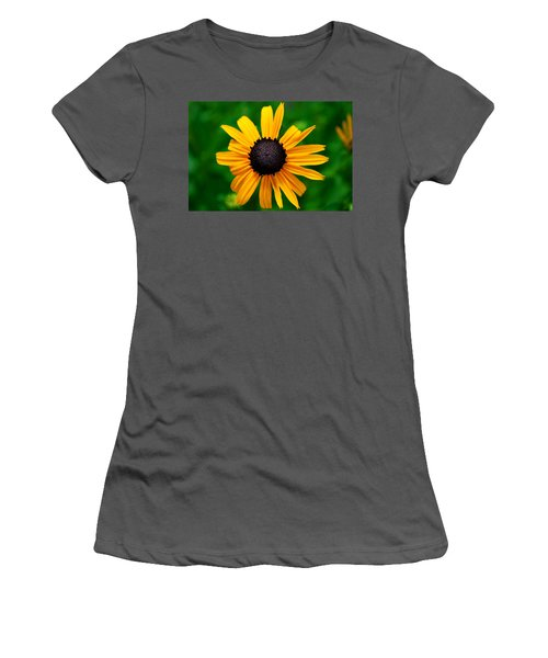 Women's T-Shirt (Junior Cut) featuring the photograph Golden Flower by Matt Harang