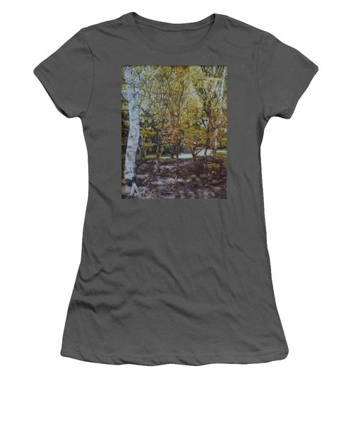 Golden Glade Women's T-Shirt (Athletic Fit)