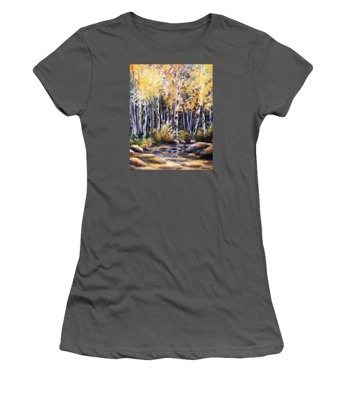 Golden Glow Women's T-Shirt (Athletic Fit)
