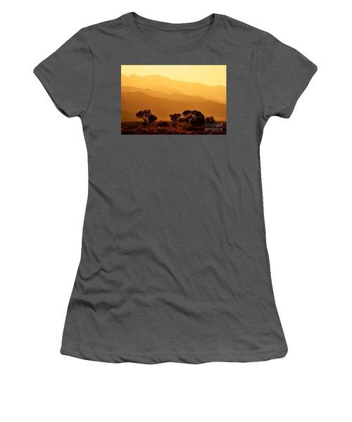 Golden Mountain Light Women's T-Shirt (Athletic Fit)