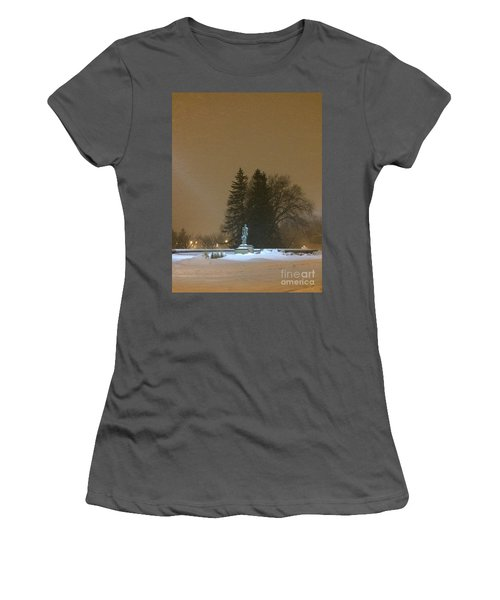 Golden Night Women's T-Shirt (Athletic Fit)