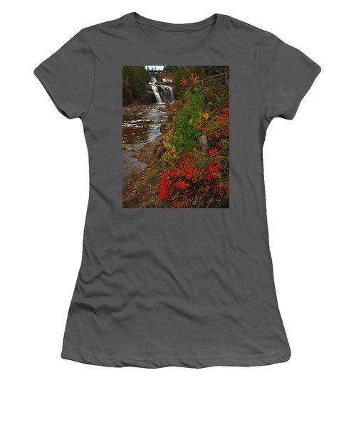 Gooseberry Foilage Women's T-Shirt (Athletic Fit)