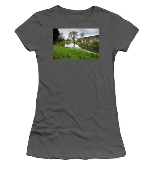 Grand Canal At Miltown Women's T-Shirt (Athletic Fit)