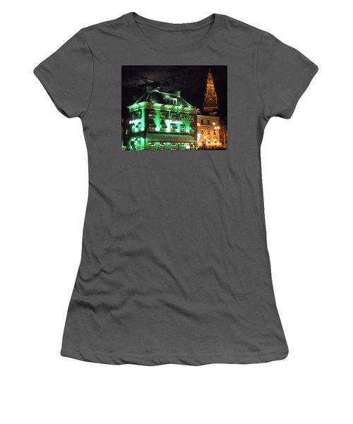 Grasshopper Bar Women's T-Shirt (Athletic Fit)