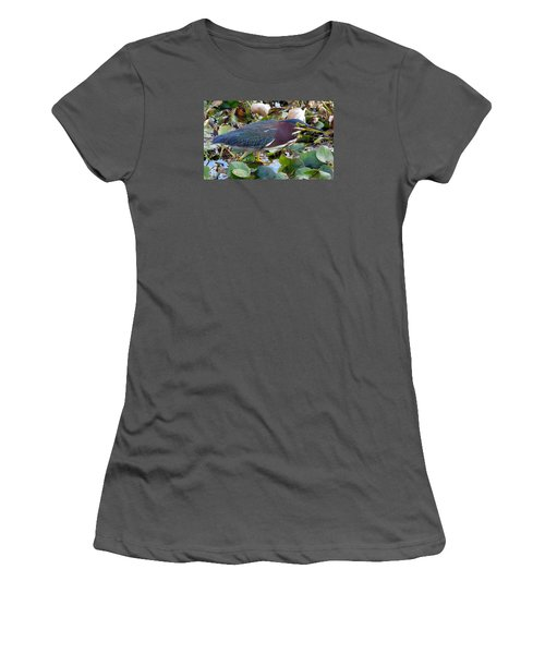 Green Heron La Chua Trail 2 Women's T-Shirt (Athletic Fit)