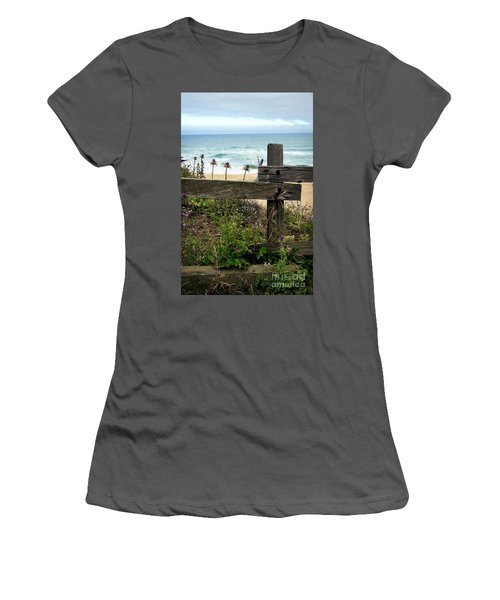 Greetings From San Francisco Women's T-Shirt (Junior Cut) by Ellen Cotton