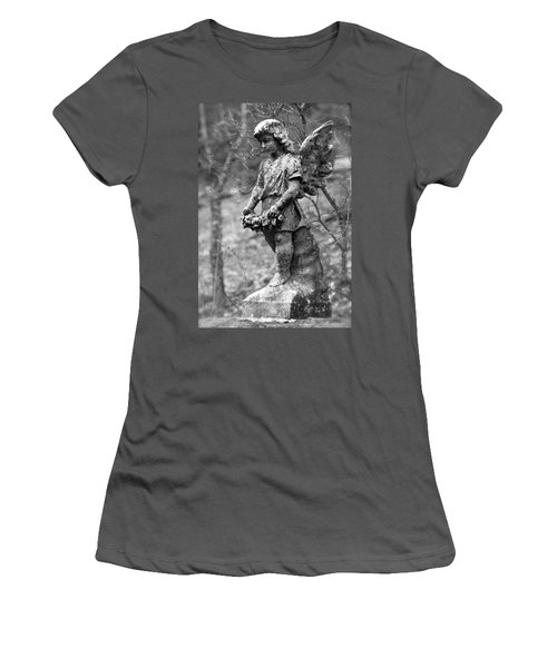 Guardian Angel  Women's T-Shirt (Athletic Fit)