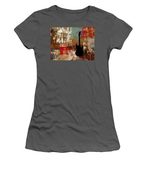 Guitar Solo Women's T-Shirt (Athletic Fit)