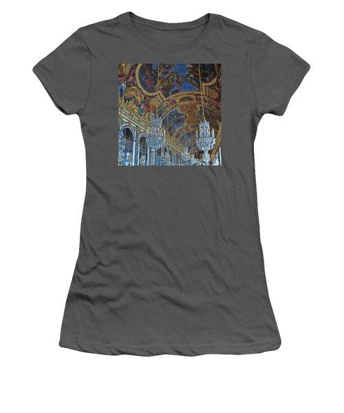 Hall Of Mirrors - Versaille Women's T-Shirt (Junior Cut)