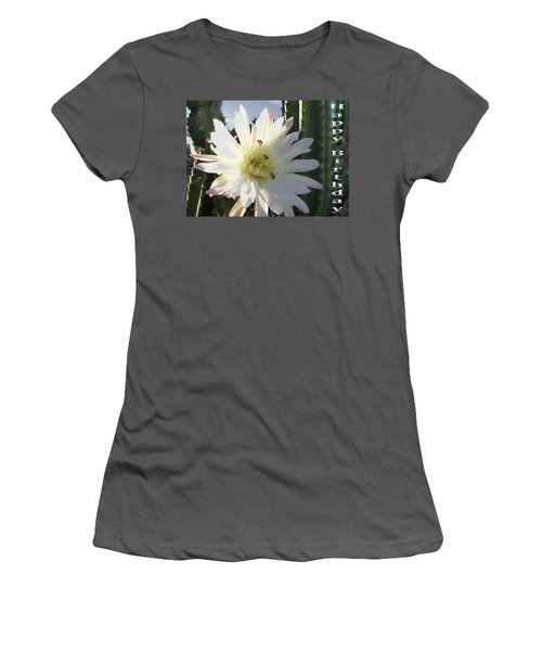 Women's T-Shirt (Junior Cut) featuring the photograph Happy Birthday Card And Print 9 by Mariusz Kula