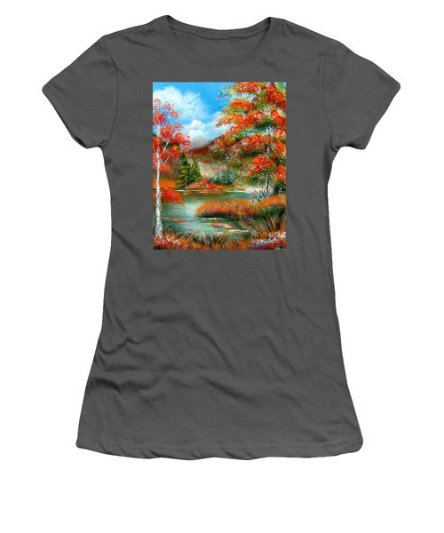 Happy Ever After Autumn  Women's T-Shirt (Athletic Fit)