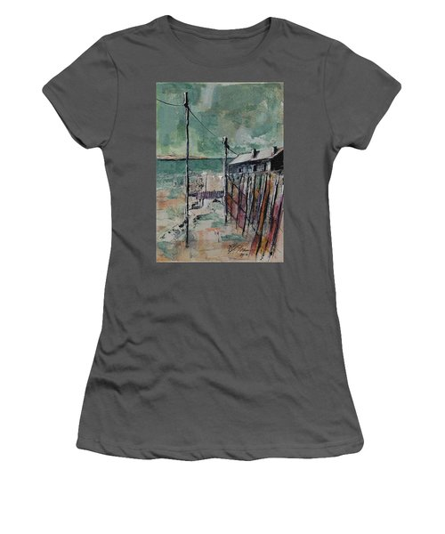 Harbormaster's Home Away From Home Women's T-Shirt (Athletic Fit)