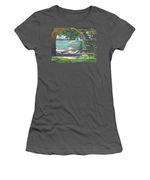 Harper's Arch Women's T-Shirt (Junior Cut) by Lynne Reichhart