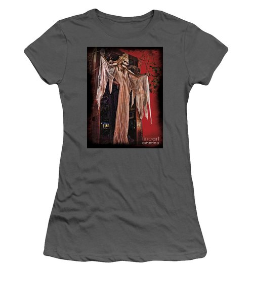 Hauntings Women's T-Shirt (Athletic Fit)