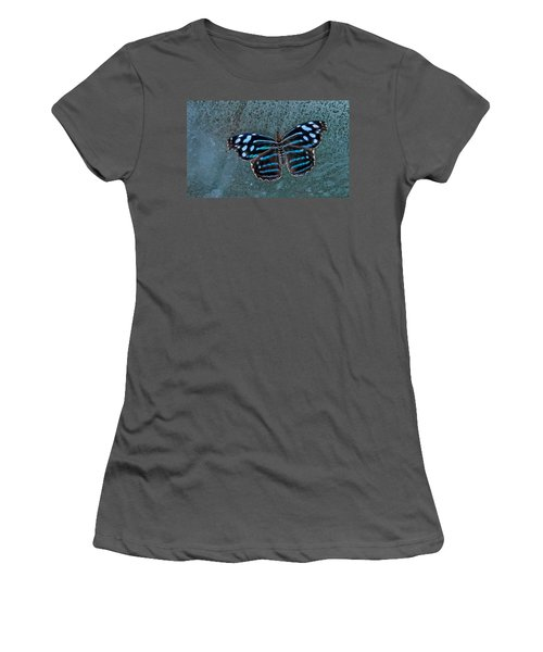 Hdr Butterfly Women's T-Shirt (Athletic Fit)