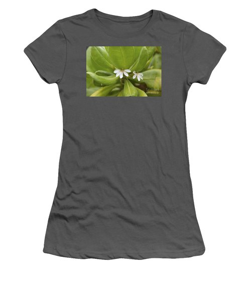 He Loves Me He Loves Me Not Women's T-Shirt (Athletic Fit)