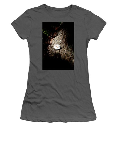Heart Shape Stop Women's T-Shirt (Athletic Fit)