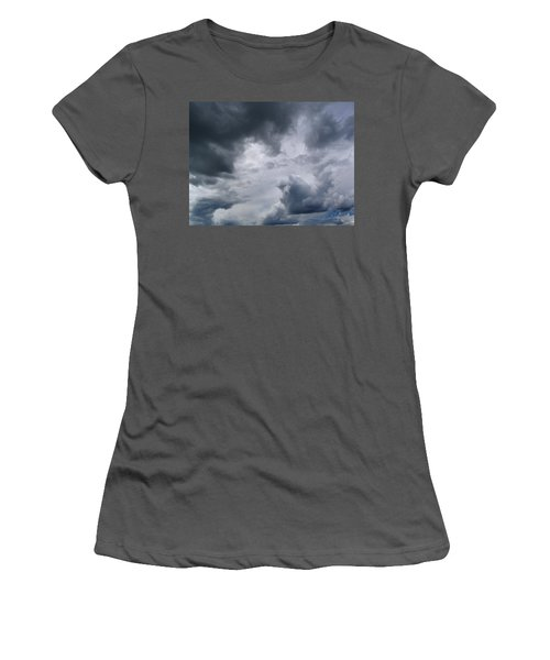 Heaven Looks Angry Women's T-Shirt (Athletic Fit)