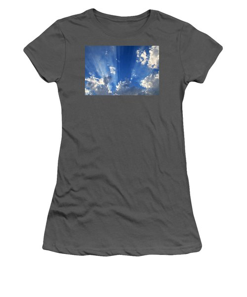 Heavenly Light Women's T-Shirt (Athletic Fit)