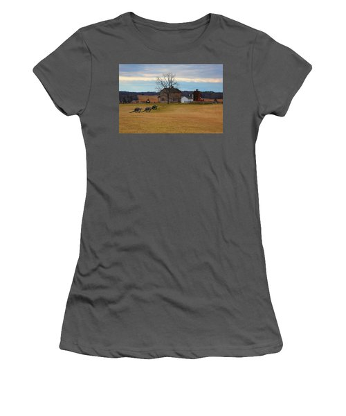 Henry House At Manassas Va Women's T-Shirt (Athletic Fit)