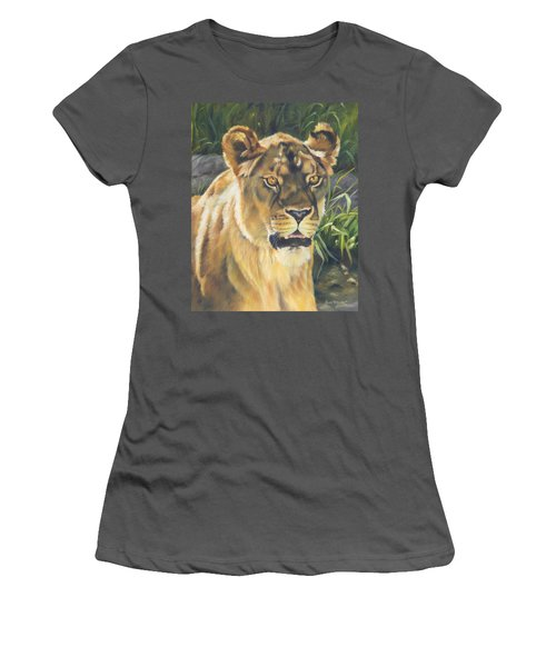 Her - Lioness Women's T-Shirt (Athletic Fit)
