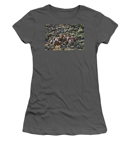Herd Of Horns Women's T-Shirt (Athletic Fit)