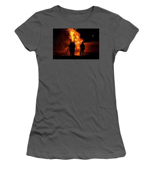 Hero's Women's T-Shirt (Junior Cut) by Sennie Pierson