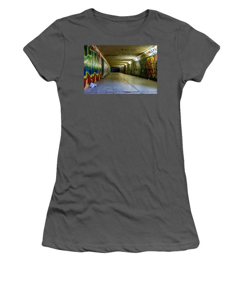 Hidden Art Women's T-Shirt (Athletic Fit)