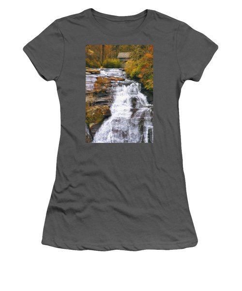 High Falls Women's T-Shirt (Athletic Fit)