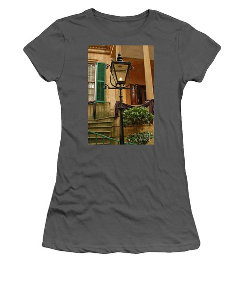 Historical Gas Light Women's T-Shirt (Athletic Fit)
